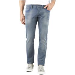 Vêtements Homme Jeans droit Le Temps des Cerises Jeans Homme 711 WC673 Gris/Bleu
