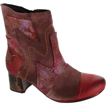 Chaussures Femme Bottines Maciejka Coral rouge
