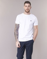 Vêtements Homme T-shirts manches courtes Timberland SS DUNSTAN RIVER CREW TEE Blanc