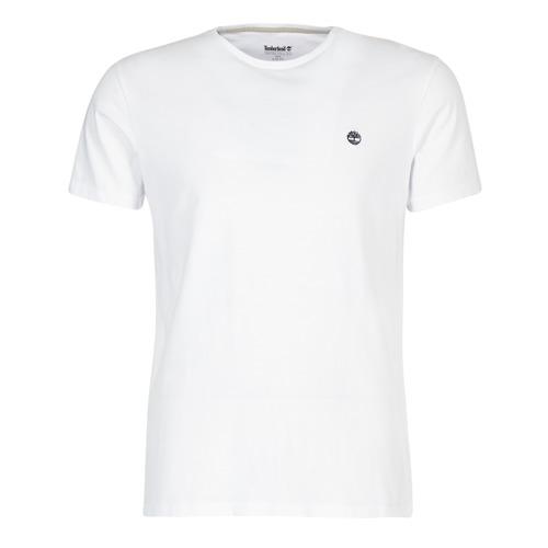 Vêtements Homme T-shirts manches courtes Timberland SS DUNSTAN RIVER CREW TEE Blanc