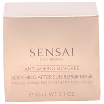 Beauté Femme Protections solaires Kanebo Sensai Silky Bronze Soothing After Sun Repair Mask  50 ml