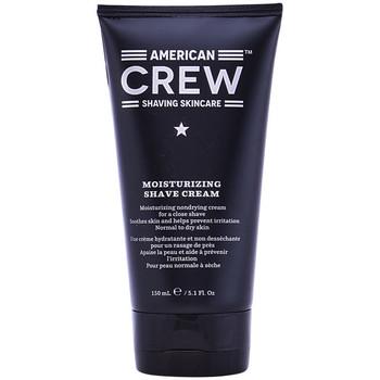 Beauté Homme Soins de la barbe American Crew Moisturizing Shave Cream  150 ml