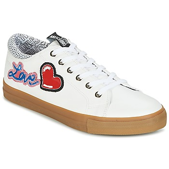 Chaussures Femme Baskets basses Love Moschino JA15213G15 Blanc