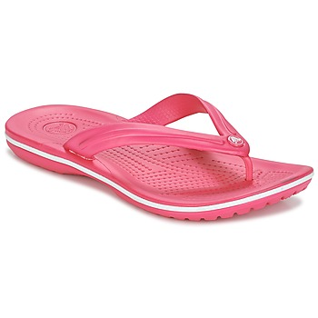 Chaussures Tongs Crocs CROCBAND FLIP Rose