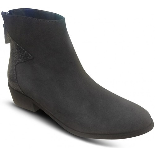 Chaussures Femme Bottines Reqin's Boots BOMBAY Truffe Marron