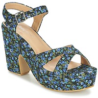Chaussures Femme Sandales et Nu-pieds Moony Mood INADA Bleu