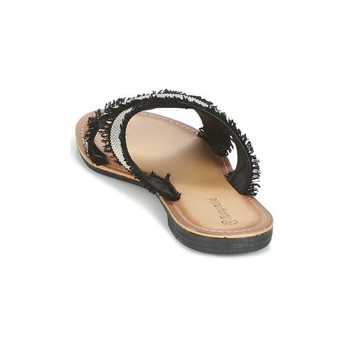 Mules NoirArgent Mood Moony Femme Chaussures Irta OXuwPkZiT