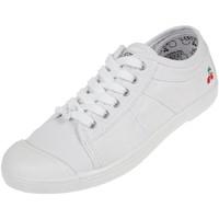 Chaussures Femme Baskets basses Le Temps des Cerises Basic 02 white Blanc