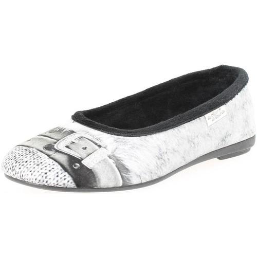 Chaussures Femme Ballerines / babies La Maison De L'espadrille 6092 gris