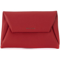 Sacs Femme Pochettes / Sacoches Orciani Busta a mano  in pelle martellata rossa Rouge