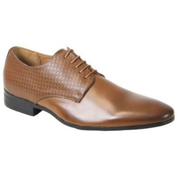 Chaussures Homme Derbies Kebello Chaussures ELO587 marron