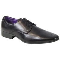 Chaussures Homme Derbies Kebello Chaussures ELO187 noir