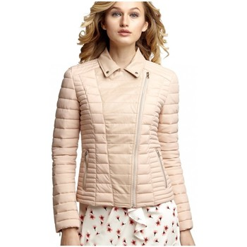 Vêtements Femme Blousons Guess Veste  Yelena Jacket Rose (sp) Rose