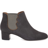 Chaussures Femme Bottines Heyraud CHELSEA BOOT FRANCELLE Gris