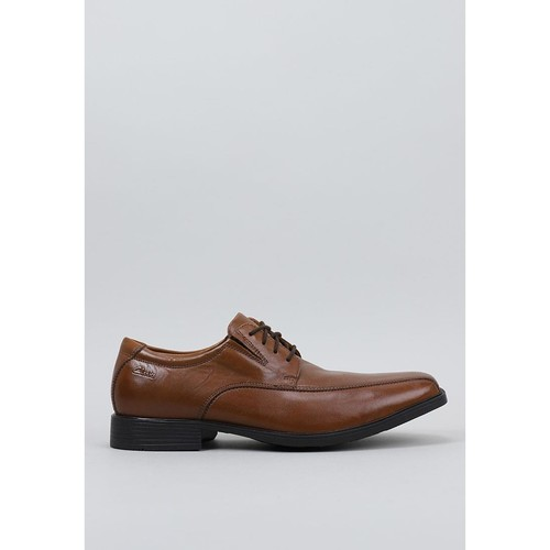 Chaussures Homme Derbies Clarks Tilden Walk Marron