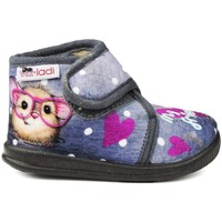 Chaussures Enfant Chaussons bébés Vulladi PEK MY BEST FRIEND gris