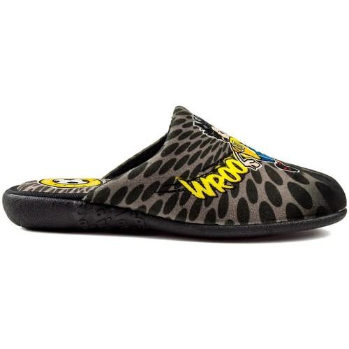 Chaussures Garçon Chaussons Vulladi ROC FOOTBALL CHILDREN noir
