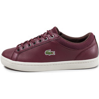 Chaussures Homme Baskets basses Lacoste Straightset Rouge