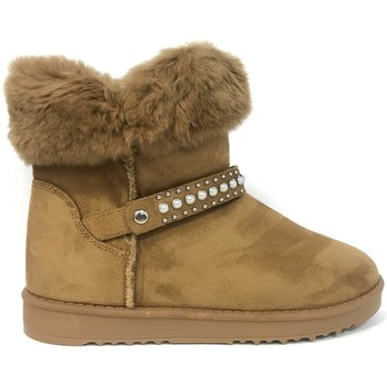 Chaussures Femme Boots Nice Shoes Boots Camel KB-032 Marron