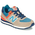 Chaussures Enfant Baskets basses New Balance KL574 Tan