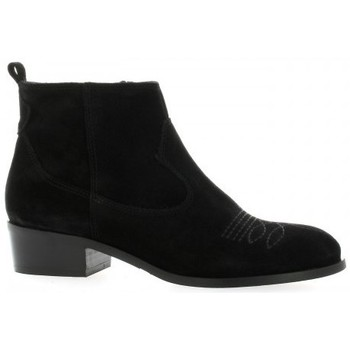 Chaussures Femme Boots Pao Boots cuir velours Noir
