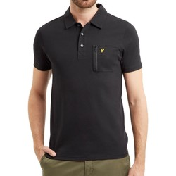 Vêtements Homme Polos manches courtes Lyle & Scott Polo Lyle Scott Pocket Noir Noir