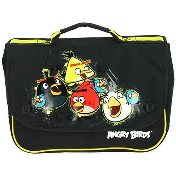 Sacs Enfant Cartables Angry Birds Cartable  35CM Noir Noir
