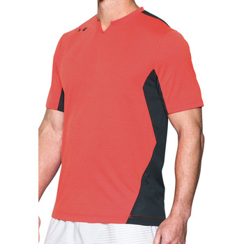 Vêtements Homme T-shirts manches courtes Under Armour Pitch II Threadborne SS Tee Orange