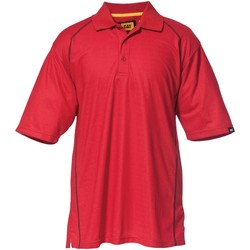 Vêtements Homme Polos manches courtes Caterpillar Advanced Performance Polo Red
