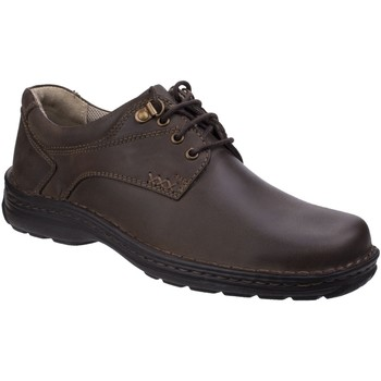 Chaussures Homme Derbies Hush puppies Geography Lace Brown