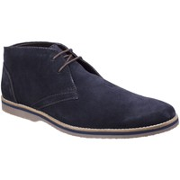 Chaussures Homme Boots Hush puppies Spencer Chukka Blue