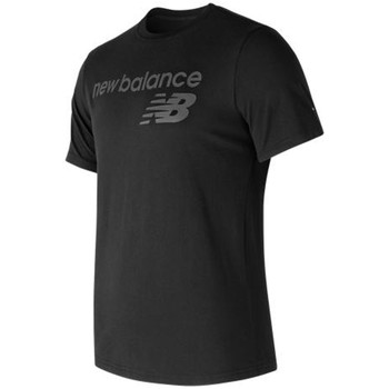 Vêtements Homme T-shirts manches courtes New Balance Tee shirt NB Athletics Main Logo Tee Black