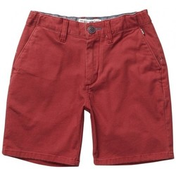 Vêtements Garçon Shorts / Bermudas Billabong Short  New Order Boys Walk - Fig Rouge