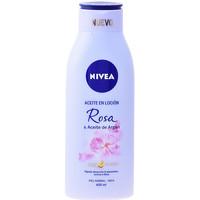 Beauté Hydratants & nourrissants Nivea Aceite En Locion Rosa & Argan