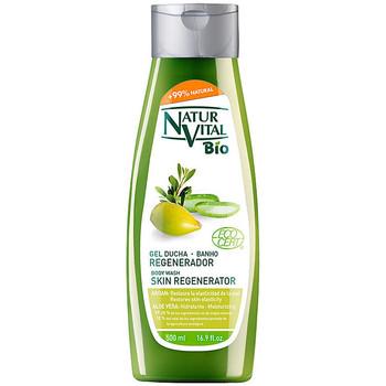 Beauté Produits bains Natur Vital Gel Douche Bio Ecocert Regenerador Argán & Aloe Vera