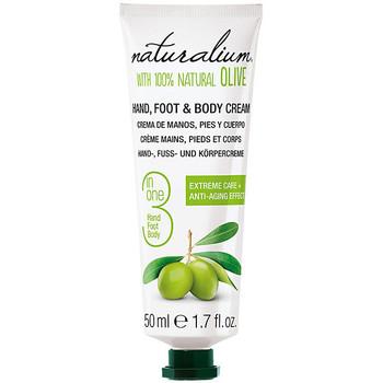 Beauté Soins mains et pieds Naturalium Oliva 100% Hand, Foot & Body Cream  50 ml