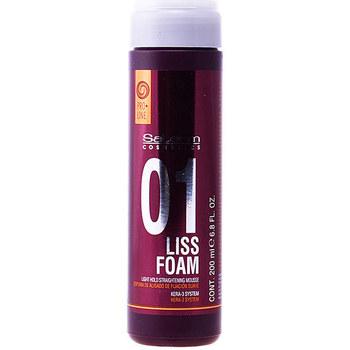Beauté Soins & Après-shampooing Salerm Liss Foam Light Hold Straightening Mousse