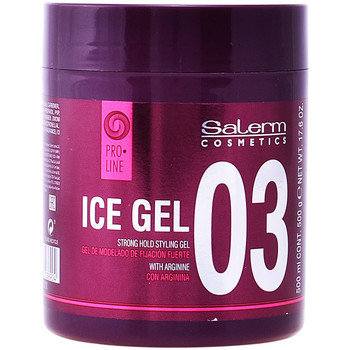 Beauté Soins & Après-shampooing Salerm Ice Gel Strong Hold Styling Gel500 Ml