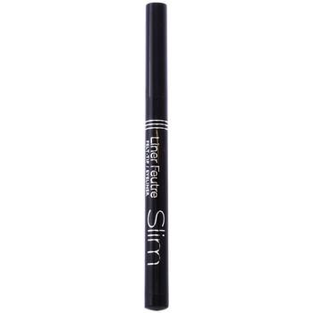 Beauté Femme Eyeliners Bourjois Eyeliner Feutre Slim 16-black  0,8 ml