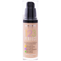 Beauté Femme Fonds de teint & Bases Bourjois 123 Perfect Liquid Foundation 55-dark Beige  30 ml