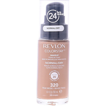 Beauté Femme Fonds de teint & Bases Revlon Colorstay Foundation Normal/dry Skin 320-true Beige  30 ml