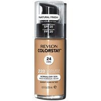 Beauté Femme Fonds de teint & Bases Revlon Colorstay Foundation Normal/dry Skin 220-natural Beige 30ml