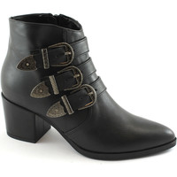 Chaussures Femme Bottines Divine Follie  Nero