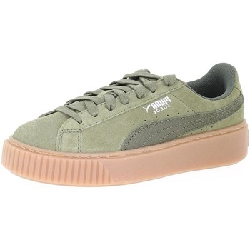 Chaussures Femme Baskets basses Puma 365109 olive