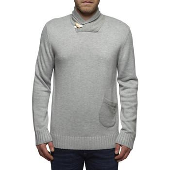 Vêtements Homme Pulls Jack & Jones Pull Tux Gris Clair col Chale (sp)