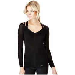 Vêtements Femme Pulls Guess Pull Femme Monica Noir Noir