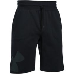 Vêtements Homme Shorts / Bermudas Under Armour Short  Rival Fleece Exploded Logo - Ref. 1303137-001 Noir