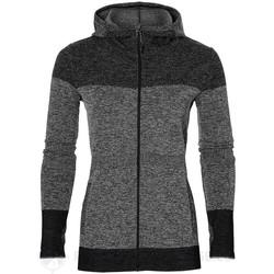 Vêtements Femme Sweats Asics Veste Noir