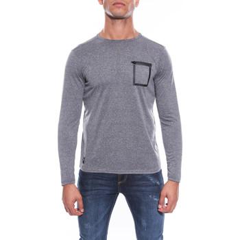 Vêtements Homme T-shirts manches longues Ritchie T-SHIRT COL ROND JUNIX Anthracite