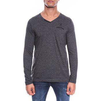Vêtements Homme T-shirts manches longues Ritchie T-SHIRT JUSTUS Noir